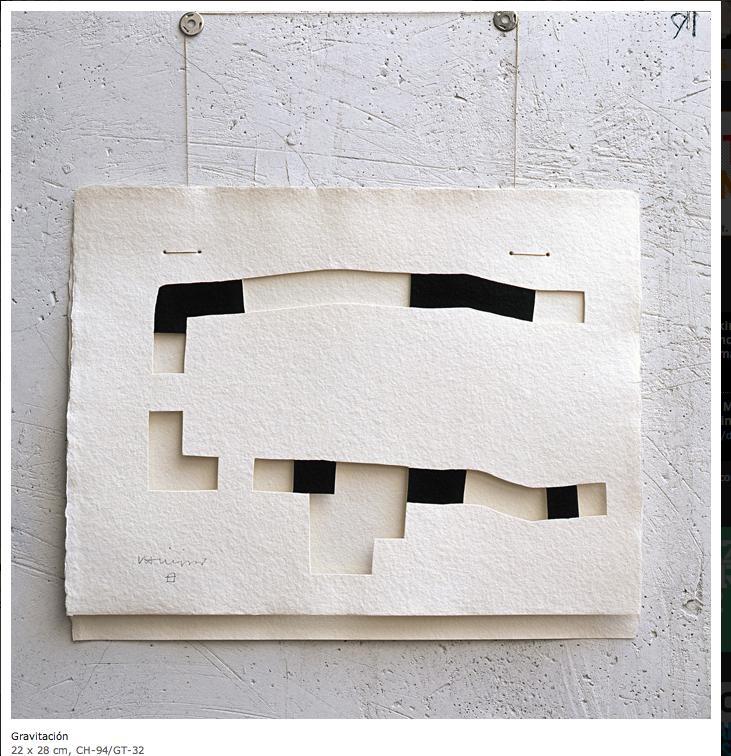 Chillida Sculpture Art Art Paper Art