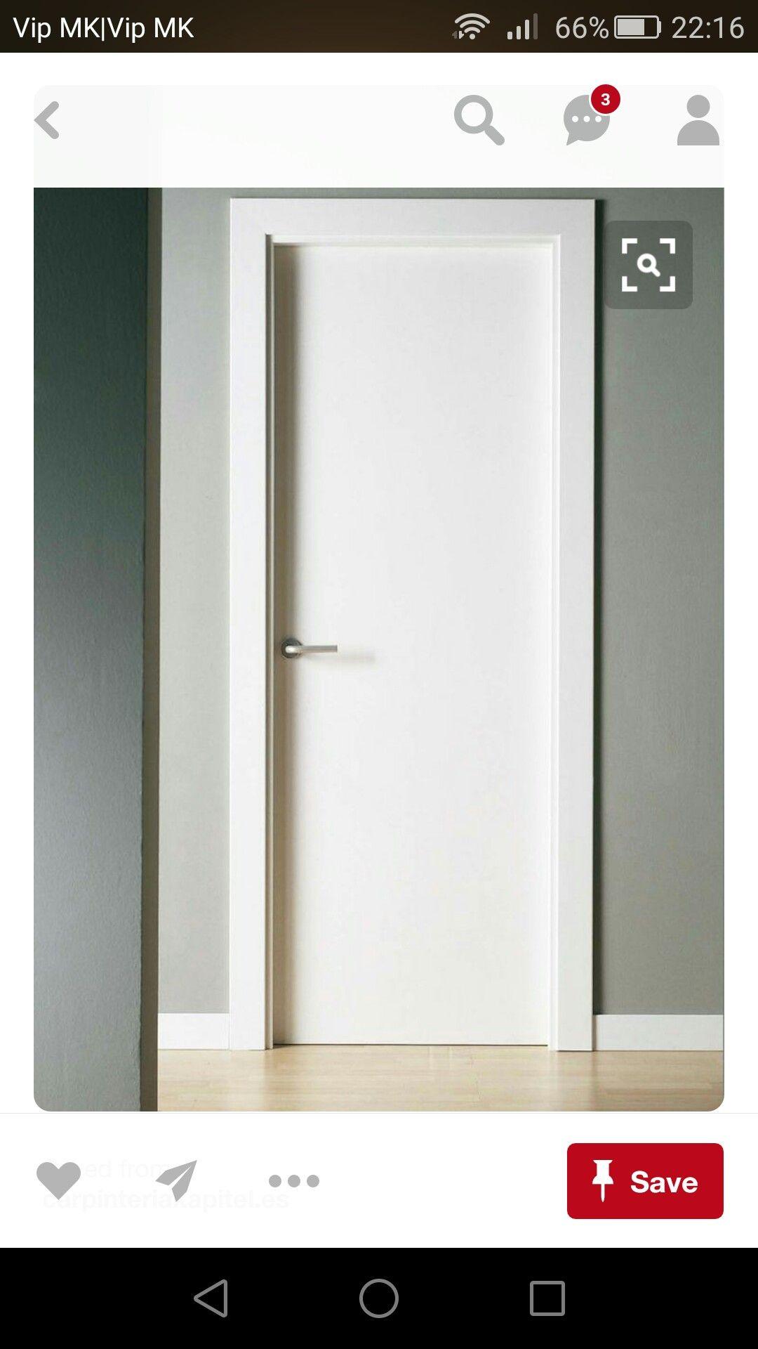 Natural Veneered Wooden Flush Door Design Mdf Living Room: Pin By Igor On Vrata In 2019