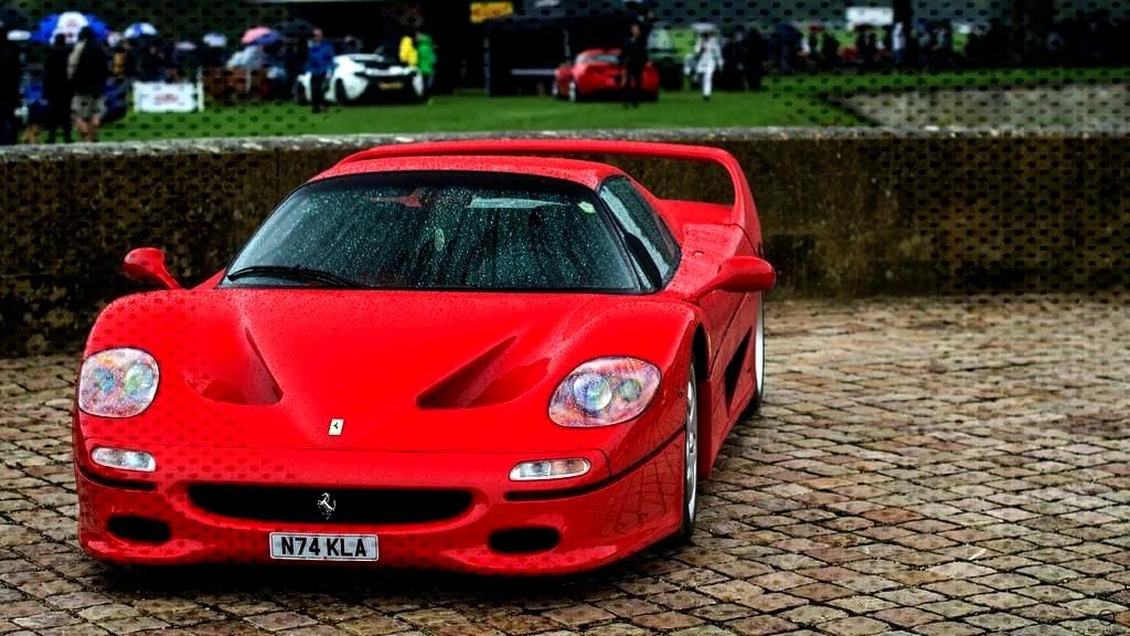 """Stuff I Found""""Ferrari F50 in Blenheim Palace""""... -Old Stuff I Found""""Ferrari F50 in Blenhe"""