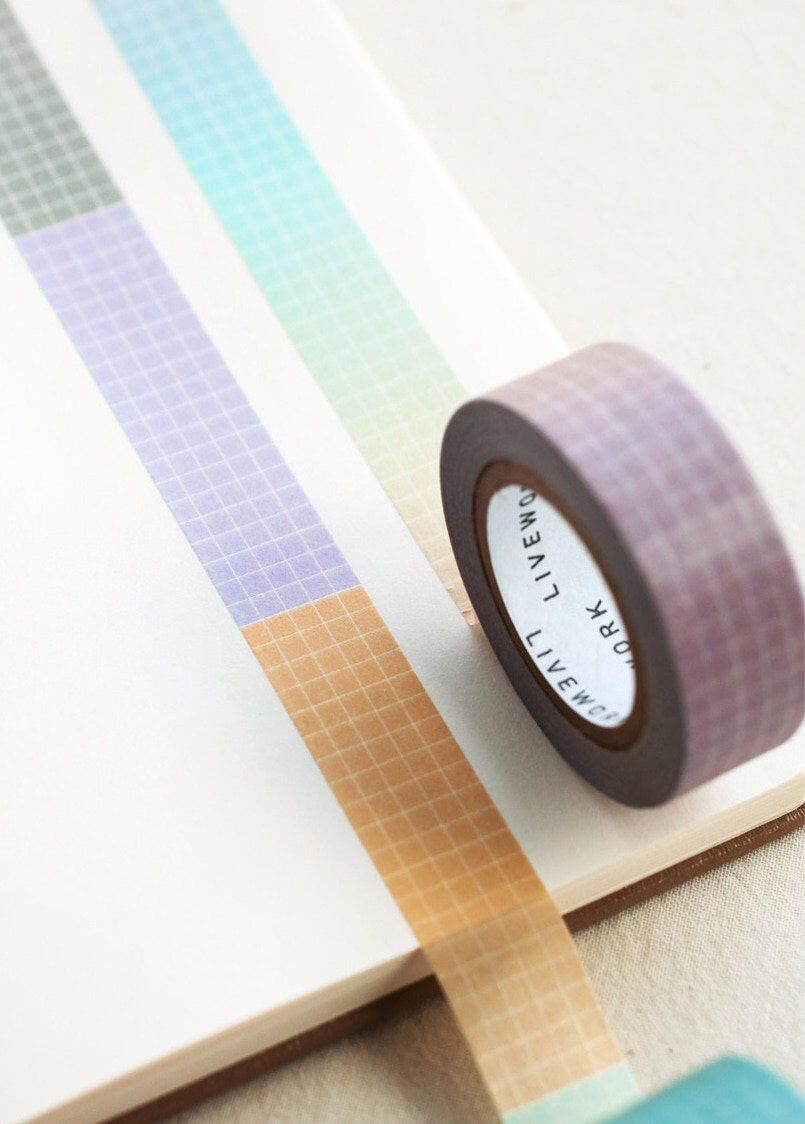 Daily Planner Washi Tape Grid Masking Tape Scrapbooking