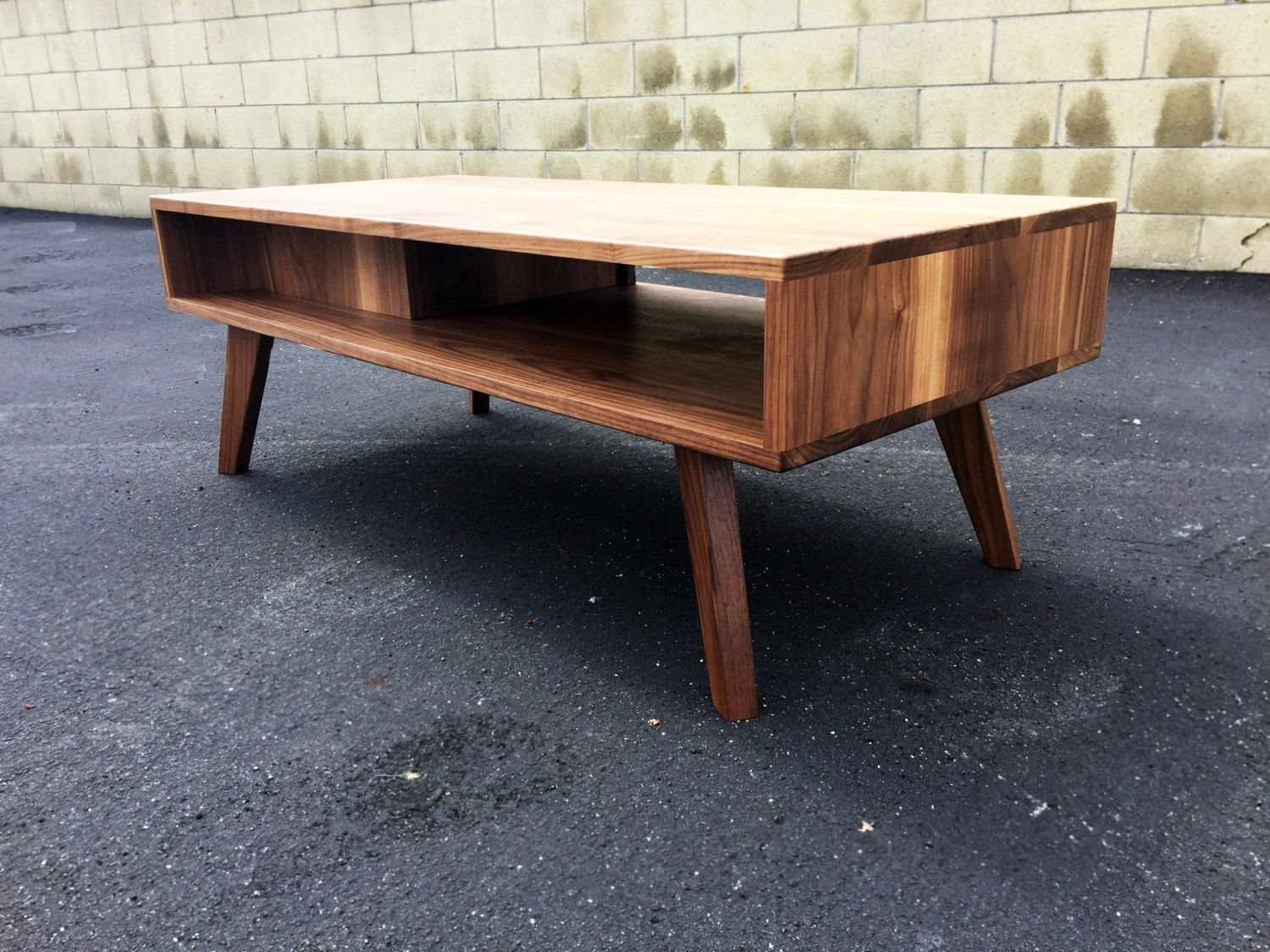 The Par A Mid Century Modern Coffee Table Modern Etsy Mobler Huse [ 1125 x 1500 Pixel ]