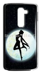 Online Shop Free shipping Custom Diy Hot Japanese Anime Cute Sailor Moon Best Durable Plastic Case For LG G2 Black or White For Choice|Aliexpress Mobile