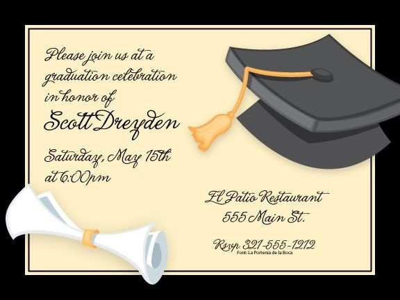 Graduation day custom graduation invitation card graduation graduation day invitations by paper so pretty at invitationbox m4hsunfo Images