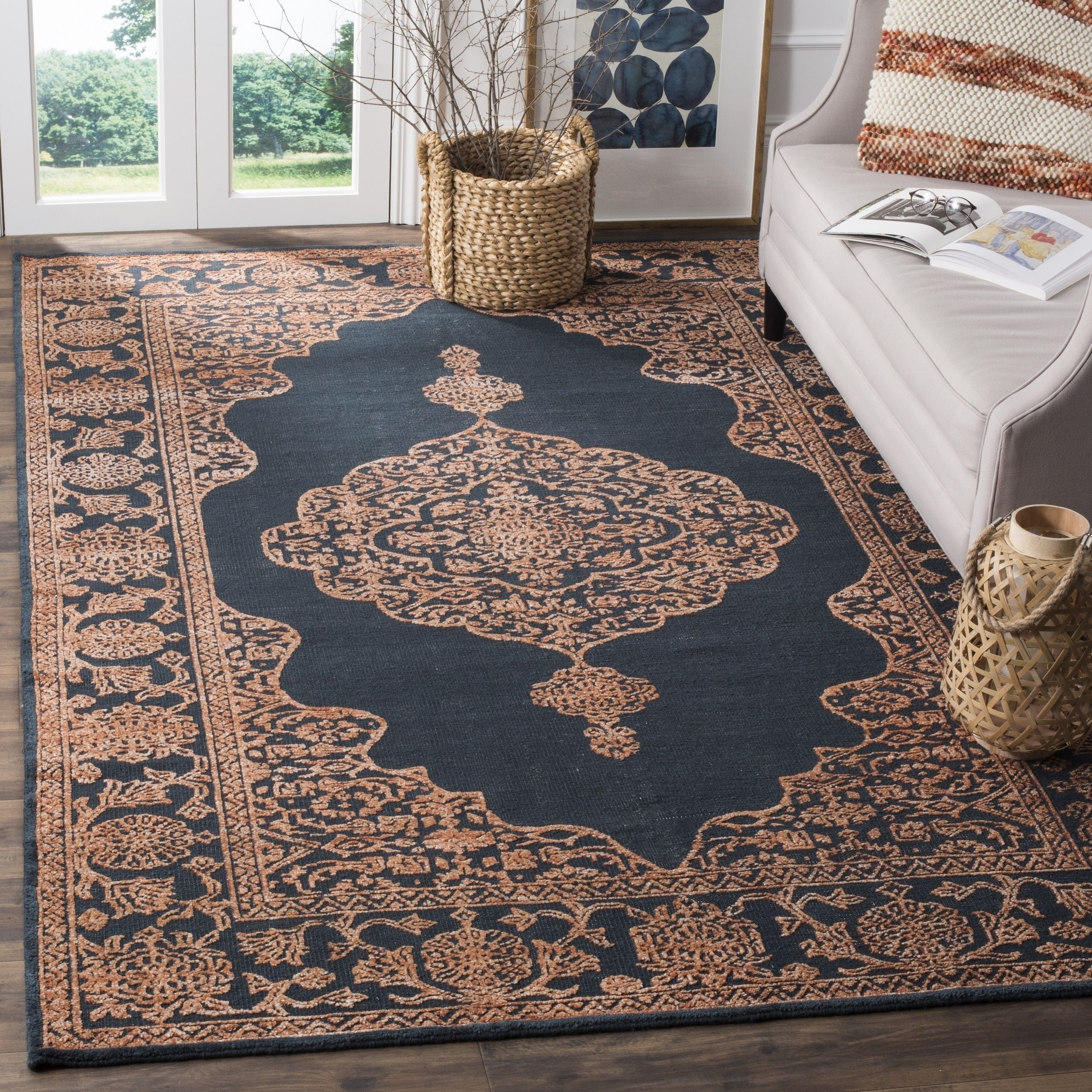 Safavieh Hand Knotted Chester Alwilda Oriental Wool Rug Rugs Area Rugs Colorful Rugs