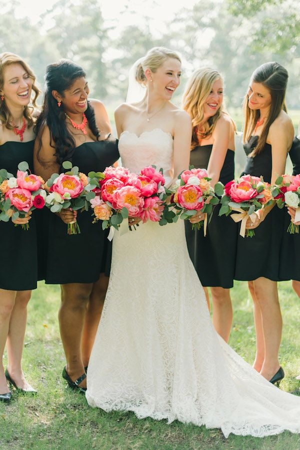 Coral Charm Peony Wedding By Sarah Mckenzie Wedding Colors