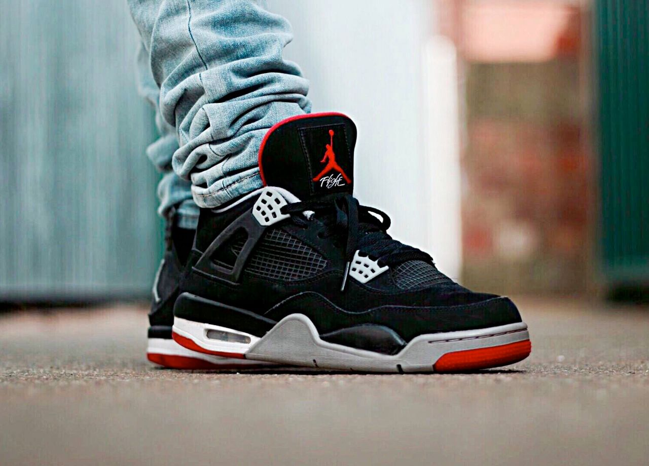 separation shoes f8bf3 975f1 Nike Air Jordan IV Retro  Bred  (by Isa Sheikh )