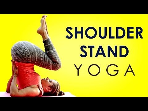 hatha yoga poses shoulder stand whole body workout