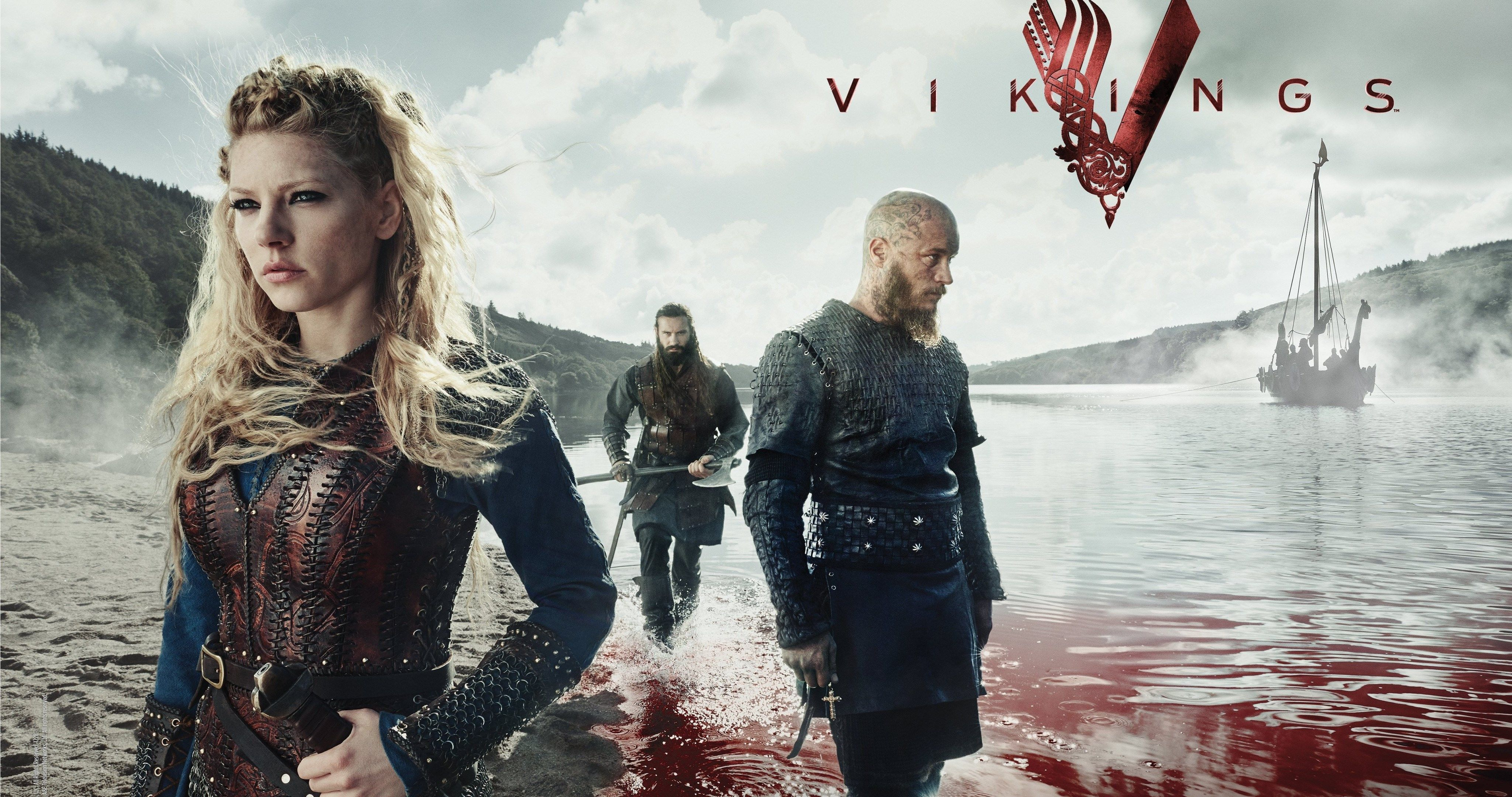 Vikings rangar lodbrok serial 4k ultra hd wallpaper - Norse mythology 4k wallpaper ...