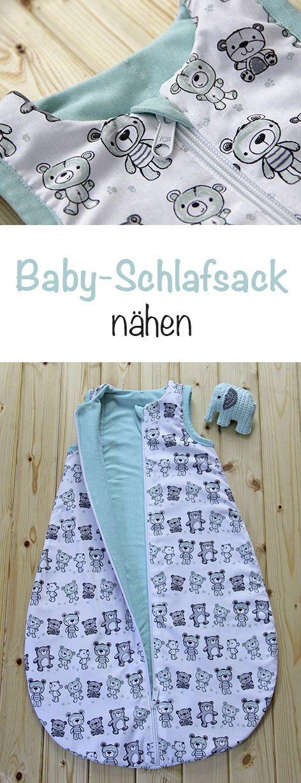 Baby-Schlafsack Teddy Mints