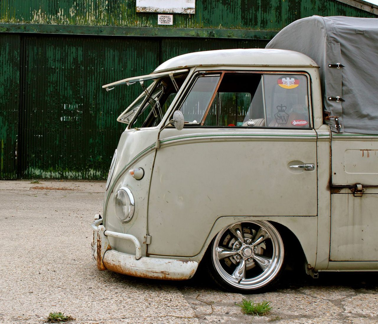 Slammed VW Bus single cab | Vehicles For The People - Type
