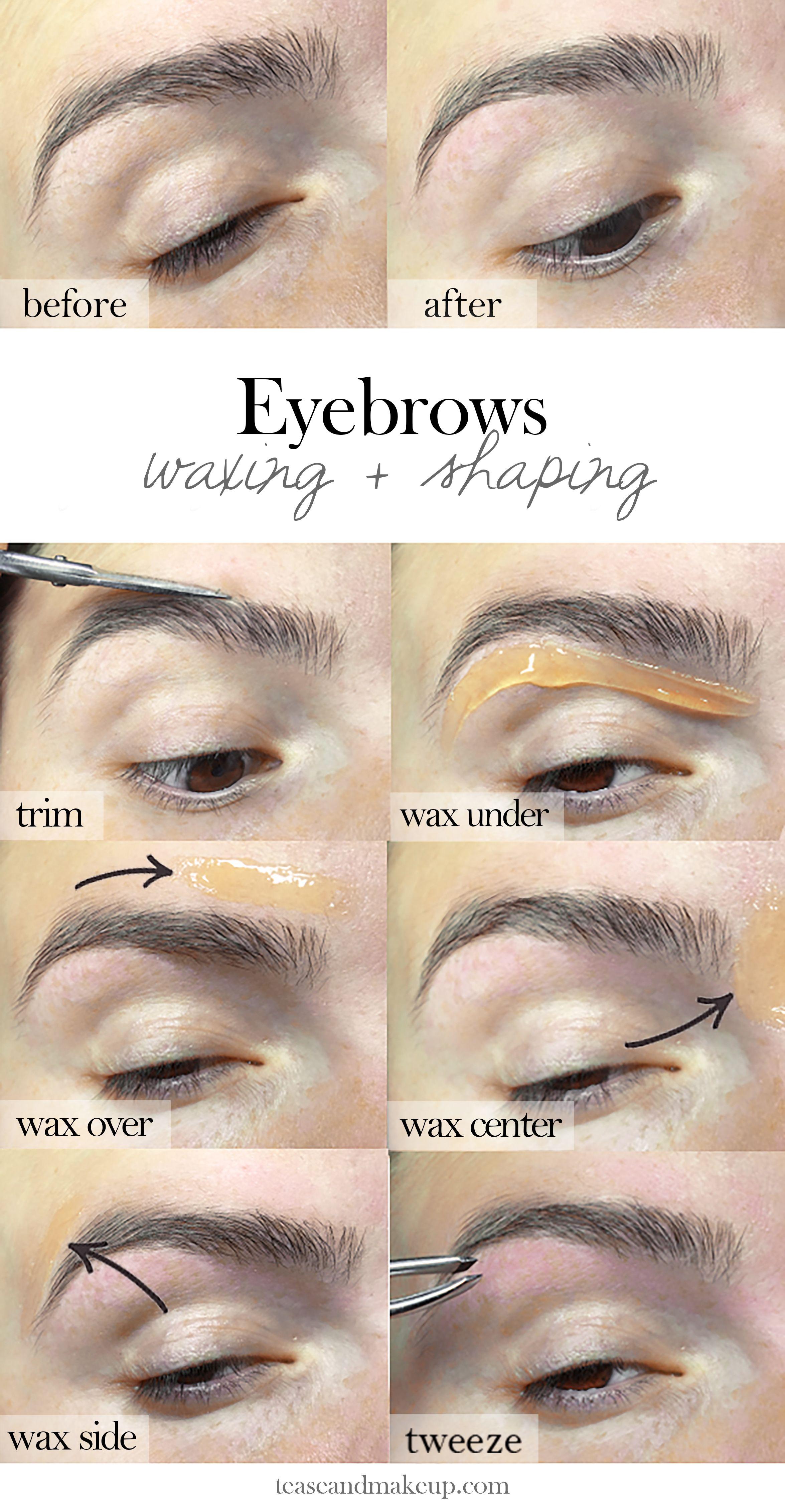 Eyebrow Tutorial: Best 25+ Diy Eyebrow Waxing Ideas On Pinterest