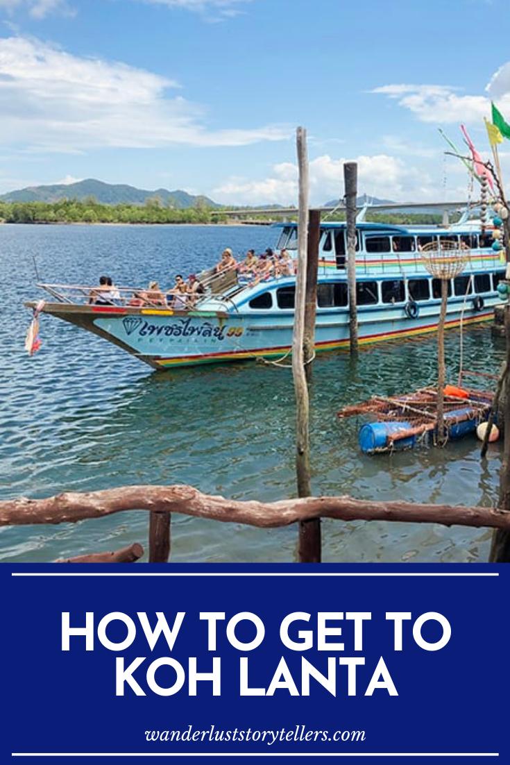 How To Get To Koh Lanta Koh lanta, Family travel