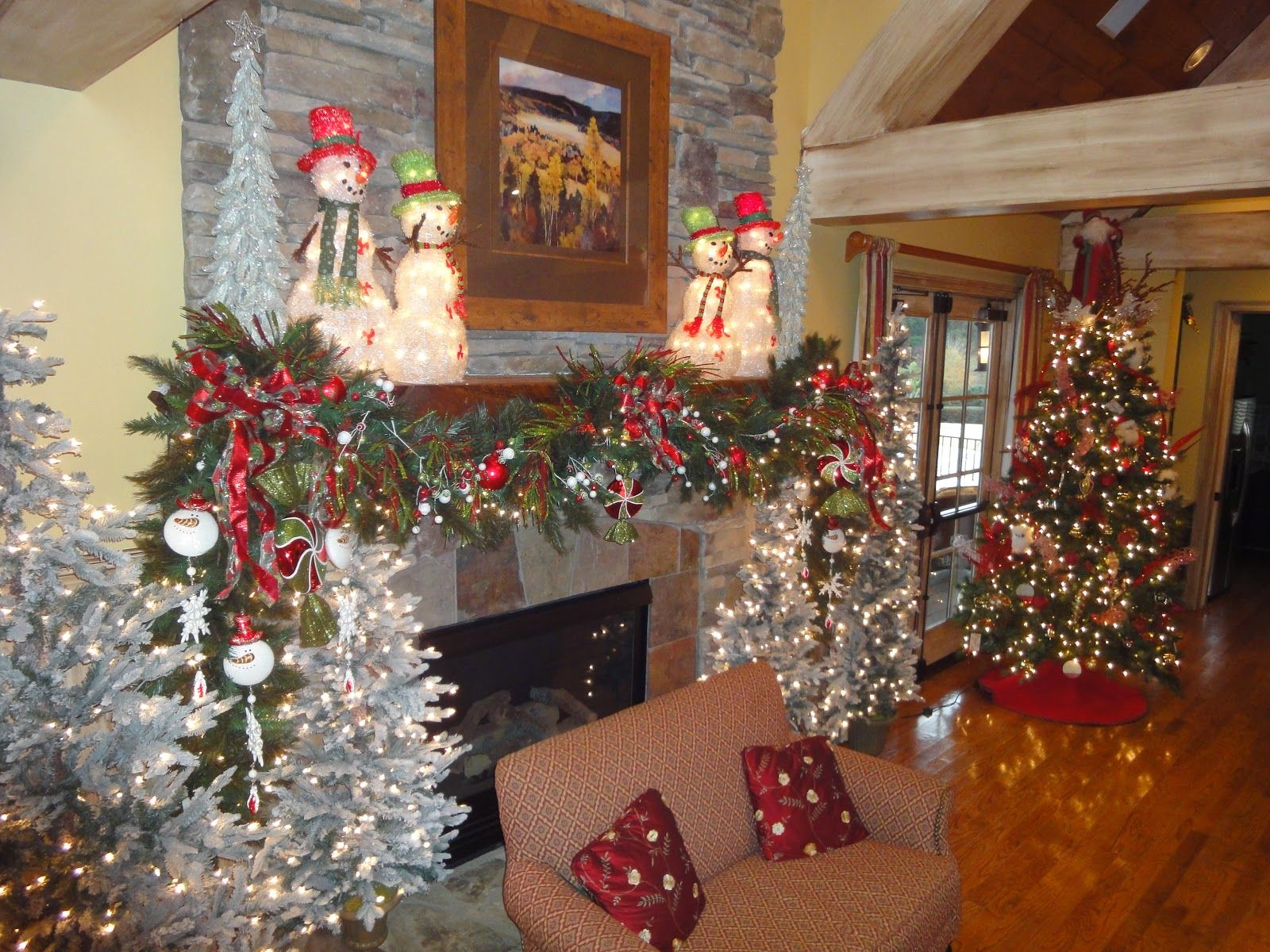 Image result for images of artificial fall christmas trees