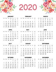 Free Printable 2020 Planner 50 Plus Printable Pages #50freeprintables
