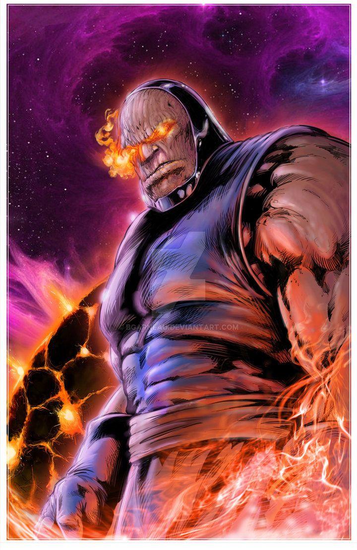 Darkseid Colored by bgarneau | Comic villains, Dc comics ...