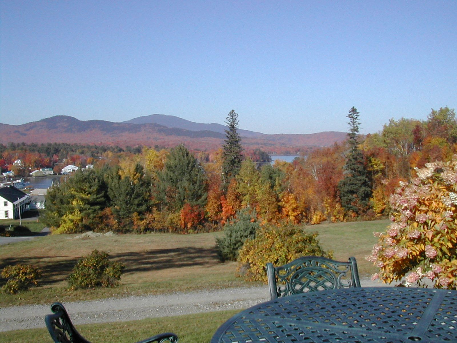 Spectacular views for the leaf peepers  Places to go