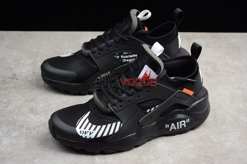 CUSTOM OFF WHITE X NIKE AIR HUARACHE RUN ULTRA | Face Your