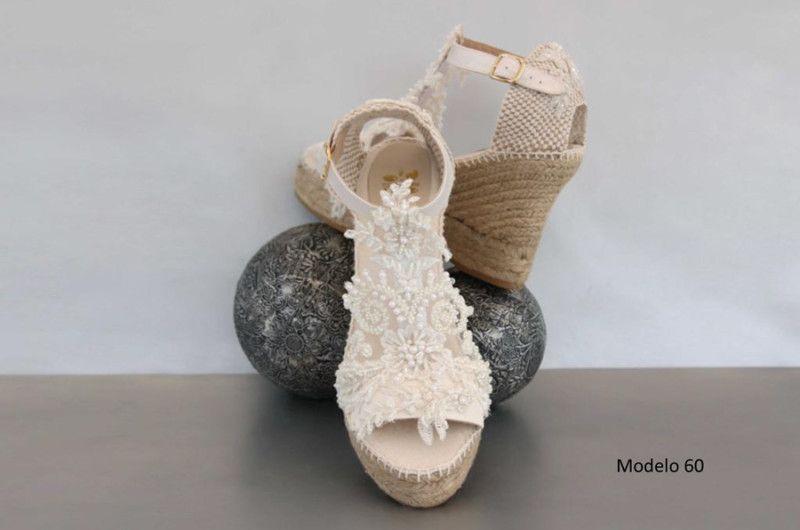 5303542d Cuñas de novia o esparteñas de novia 2016 - Entrenovias | zapatos ...