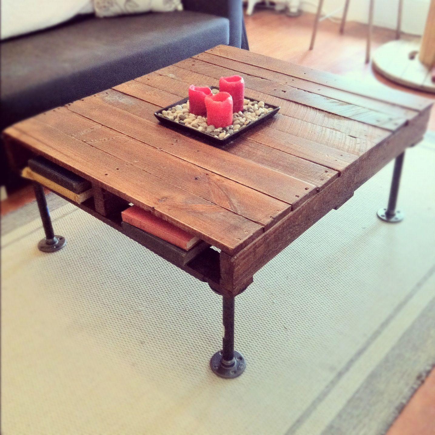 Rustic Industrial Pallet Coffee Table