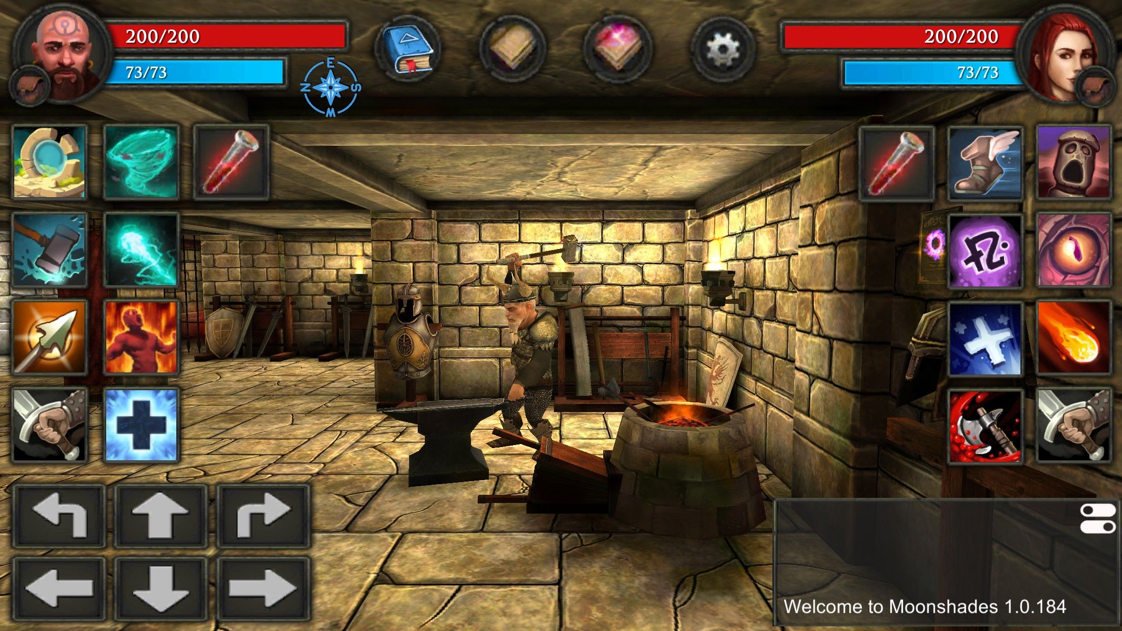 Moonshades an oldschool dungeon crawler roleplaying