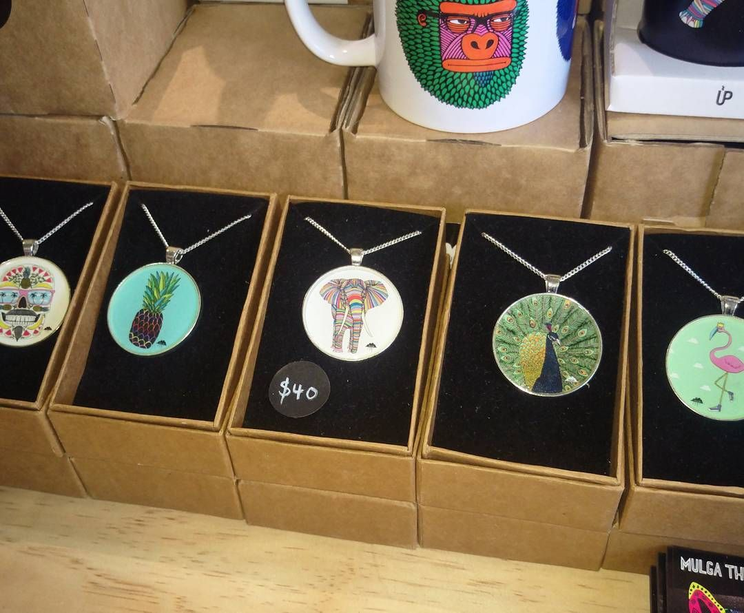 Necklaces make your neck look real nice. It's true I have witnessed it with my own eyeballs. Check them out at my stall at the Sydney Royal Easter Show or online link in my profile.  My necklaces are hand made in Melbourne and have a silver plated pendant and sterling silver chain