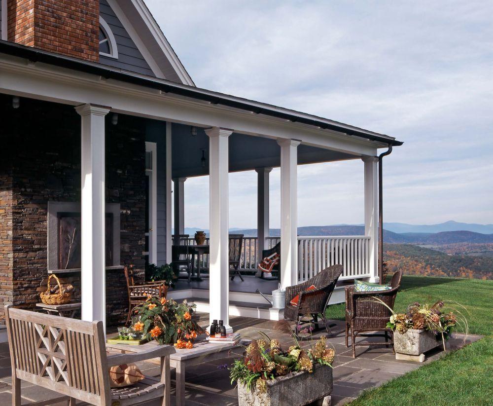 40 Ways To Style Your Covered Porch Veranda Design Veranda Eine Veranda Bauen