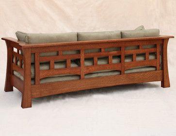 Back Of Mackintosh Low Sofa Craftsman Sofas Dc Metro