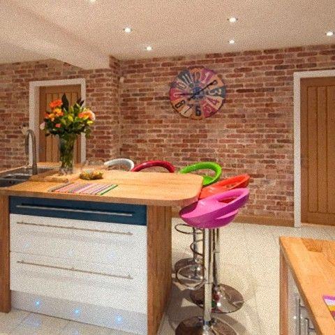 full size of rustic kitchenluxury brick effect kitchen wall tiles ...