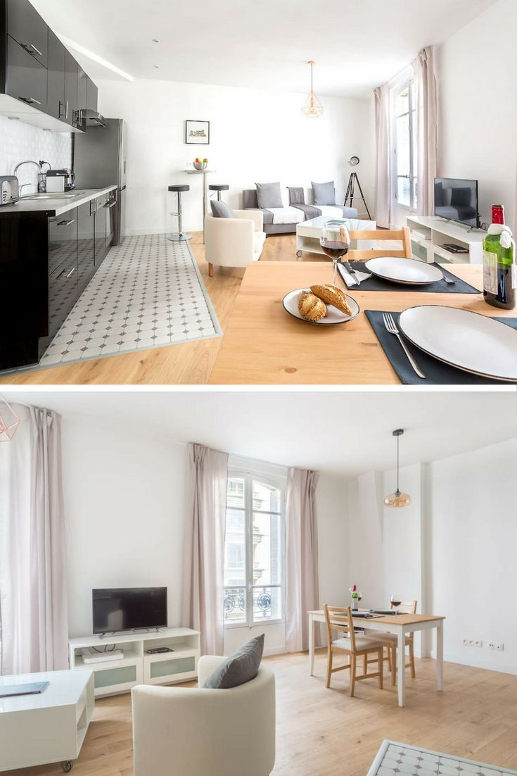 So Much E And Light In This One Bedroom Apartment The North Of Paris