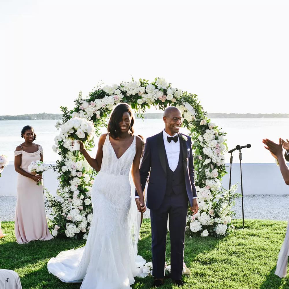 Traditional Wedding Ceremony Recessional Order In 2020 Wedding Ceremony Traditions Mermaid Wedding Dress Wedding Dresses