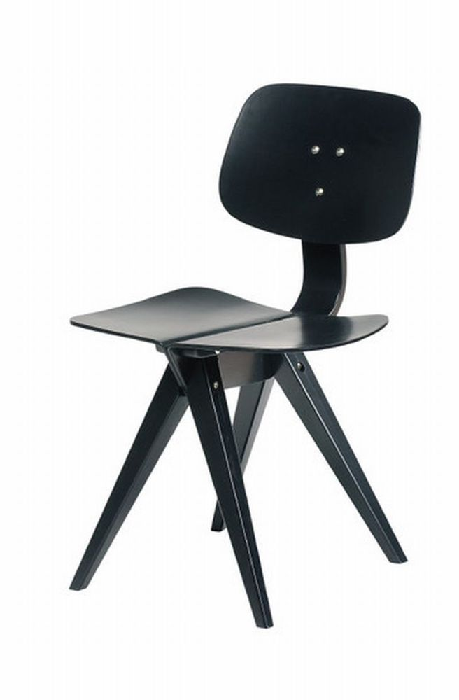 Fabulous Rex Kralj Mosquito Stuhl in schwarz Ausstellungsst ck in M bel u Wohnen M bel Sofas