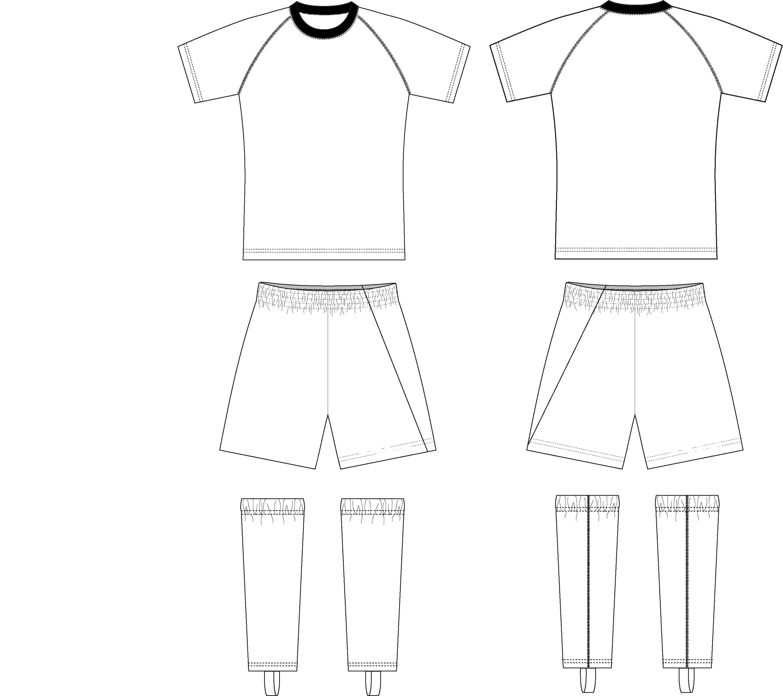USA Rugby Club Custom Uniform Template. Any Design, Any