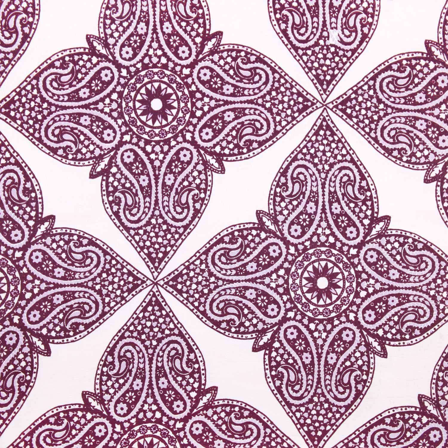John Robshaw Fabric Kumera Brinjal From John Robshaw Textiles  The Textile Files