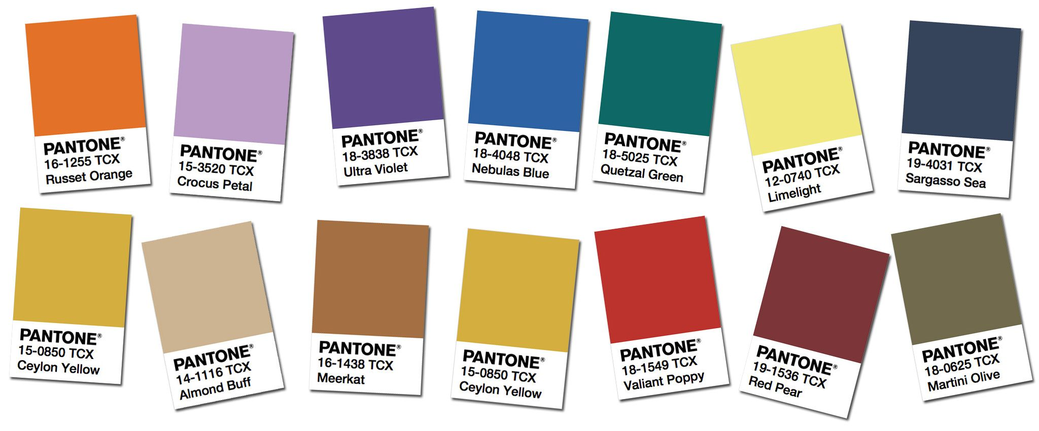 pantone fashion color trend report ny week fall winter 2018 colors trends find in illustrator reference library