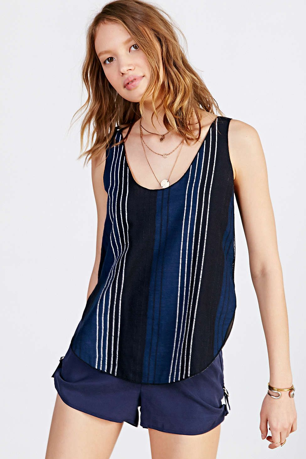 Cooperative Double-Weave Tank Top #UrbanOutfitters