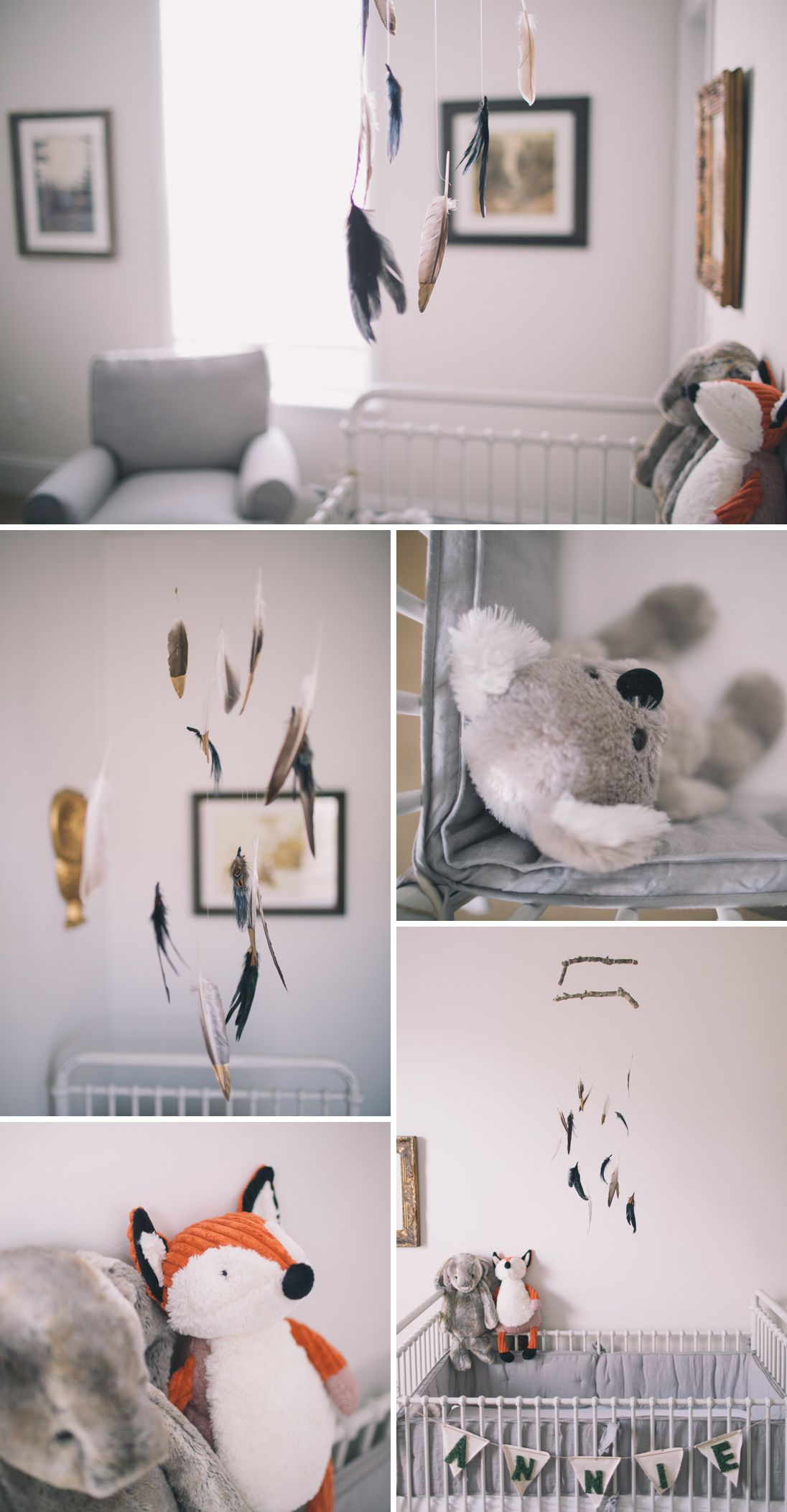 Baby Annie and Her Woodland Themed Nursery