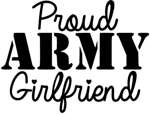 5 Proud ARMY Girlfriend Decal by CharmingVinyl on Etsy, $5