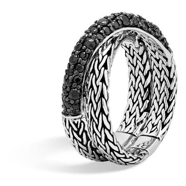 John Hardy Classic Chain Intersect Ring iy6Qsfvab