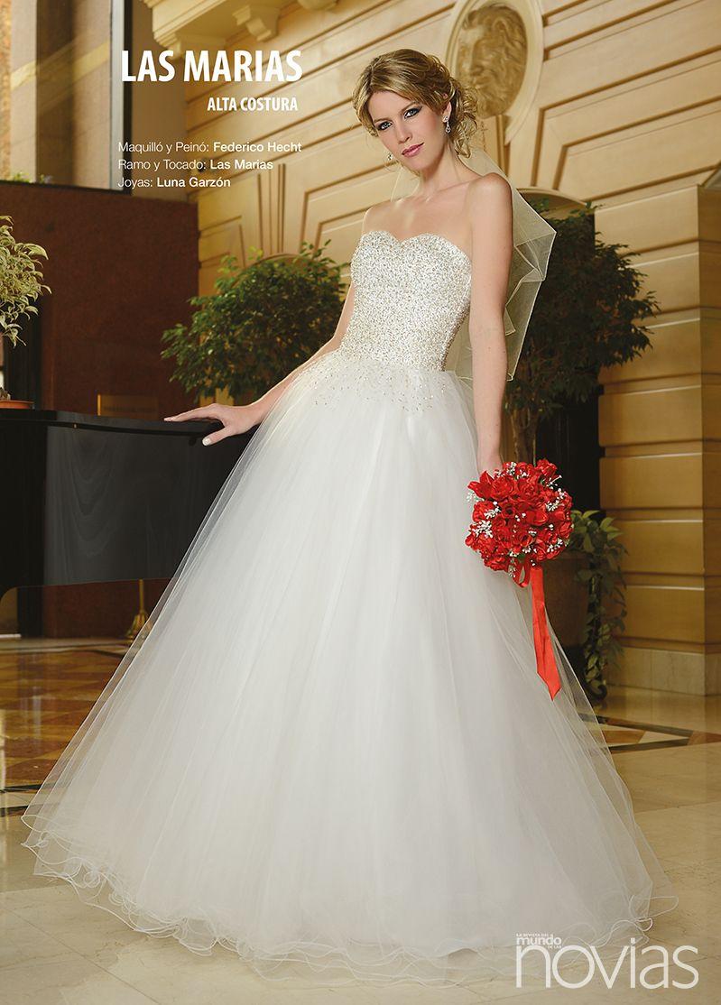 Wedding Dress From Bride S Magazine Revista Del Mundo De Las Novias