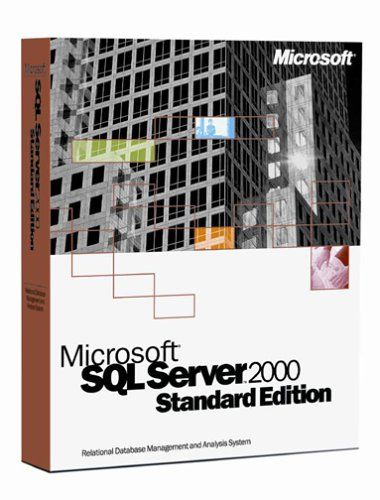 Microsoft SQL Server 2000 Standard Edition (5-client) [Old Version]  http://www.bestcheapsoftware.com/microsoft-sql-server-2000-standard-edition-5-client-old-version/