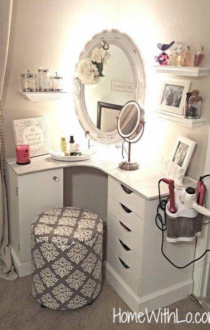 Trendy Makeup Vanity Ideas Window 60 Ideas images