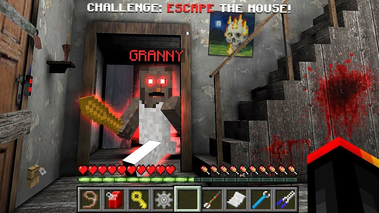 ESCAPE FROM GRANNY'S MINECRAFT HOUSE! http//www.heysport