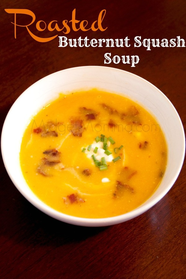 Roasted Butternut Squash Soup #butternutsquashsoup Roasted Butternut Squash Soup #butternutsquashsoup
