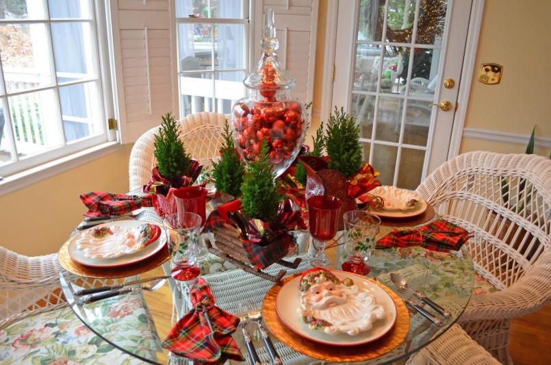 Diy Christmas Table Decoration Setting Ideas Christmas Table Decorations