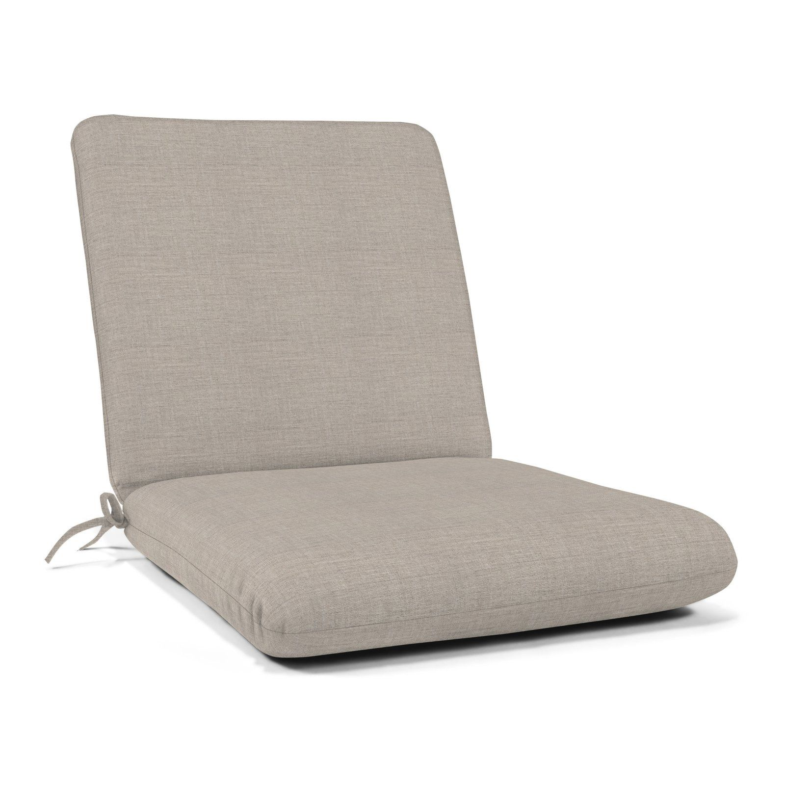 Casual Cushion Sunbrella Hinged Outdoor Deep Seating Cushion