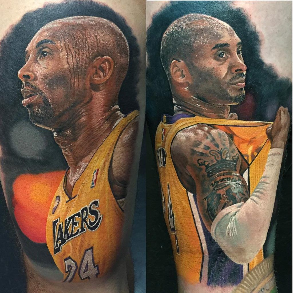 You have to check out these insanely realistic NBA tattoos