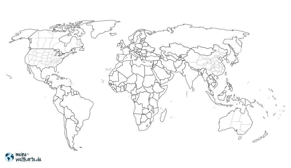 Grenzen Bundesstaaten Bei Grossen Lander Wir Die Usa Oder Kanada