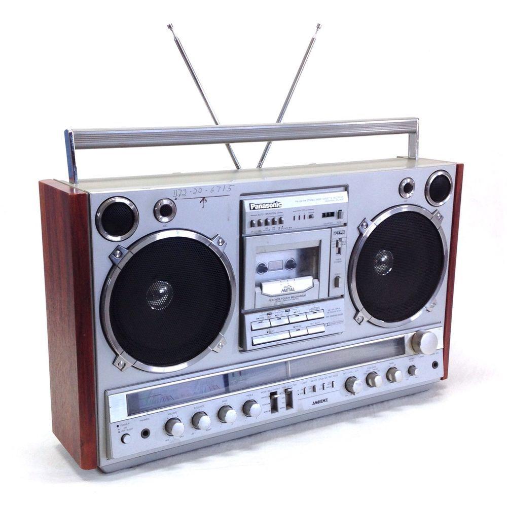 Vintage Boombox eBay