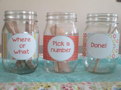 Crystal's Craft Spot: Chore Jars