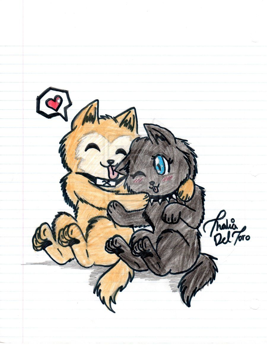 Pup Hige and Blue by Xena2cute2love.deviantart.com on @deviantART
